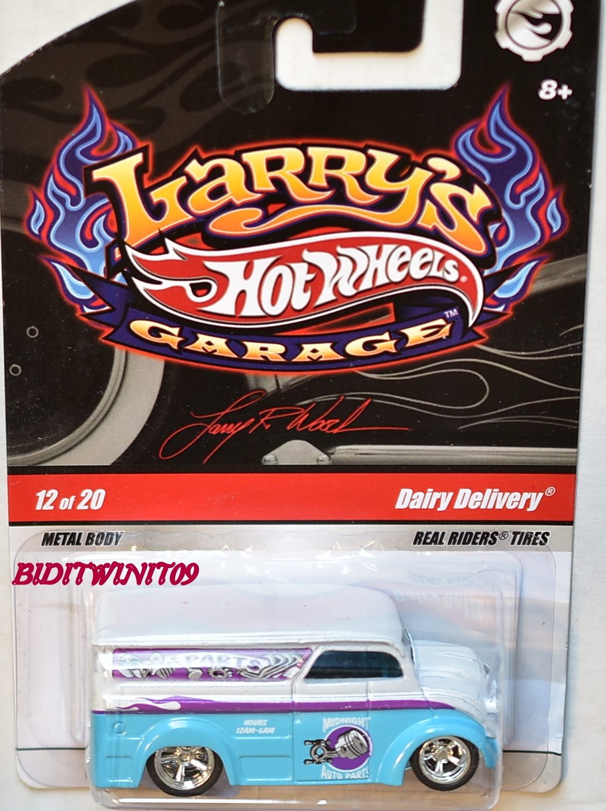 HOT WHEELS LARRY'S GARAGE #12/20 DAIRY DELIVERY