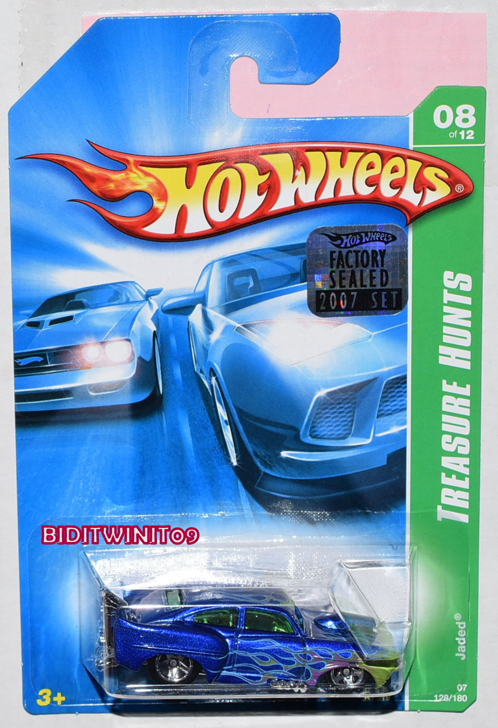 HOT WHEELS 2007 REGULAR TREASURE HUNT JADED FACTORY SEALED