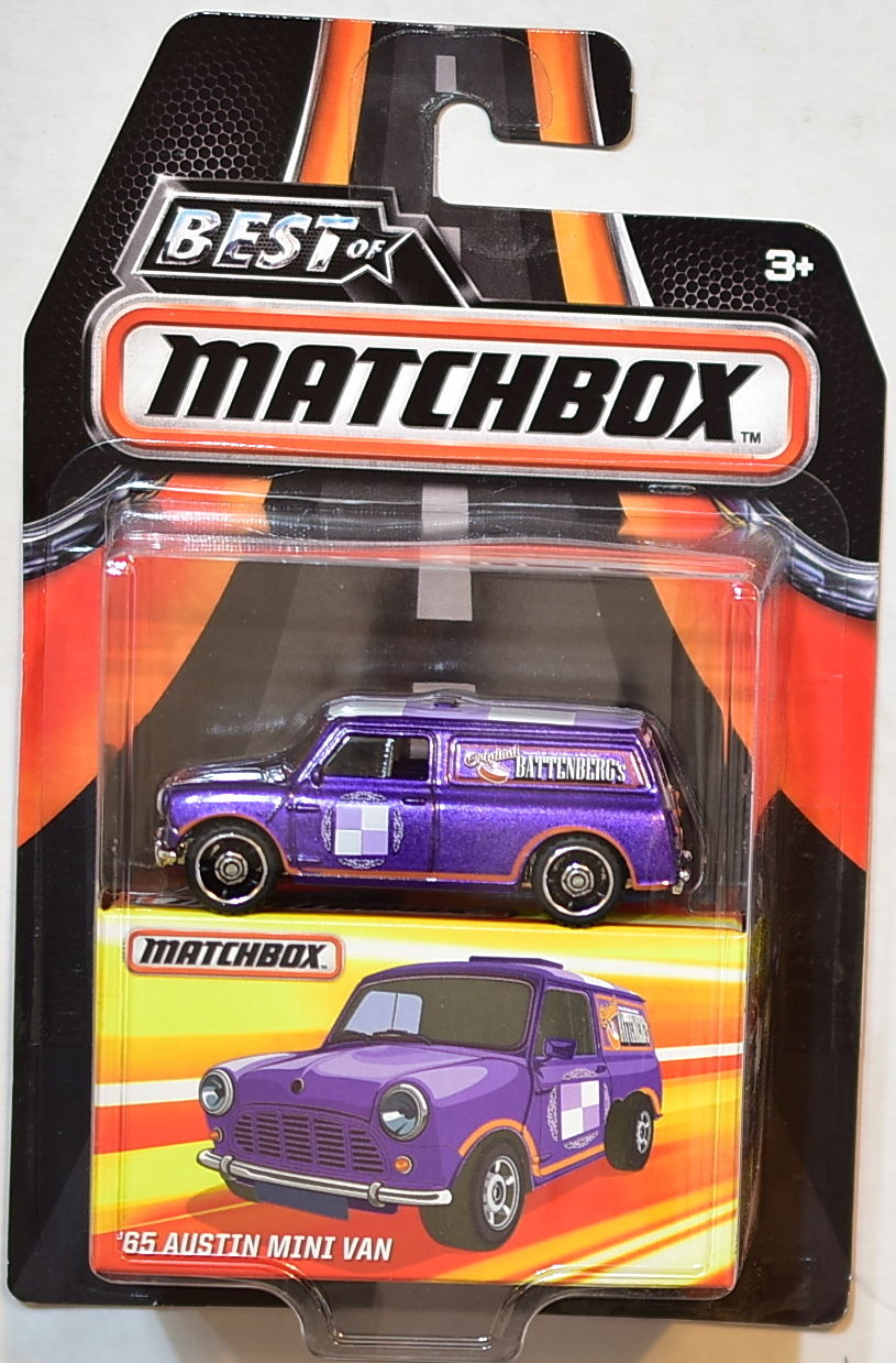 MATCHBOX 2016 BEST OF MATCHBOX '65 AUSTIN MINI VAN