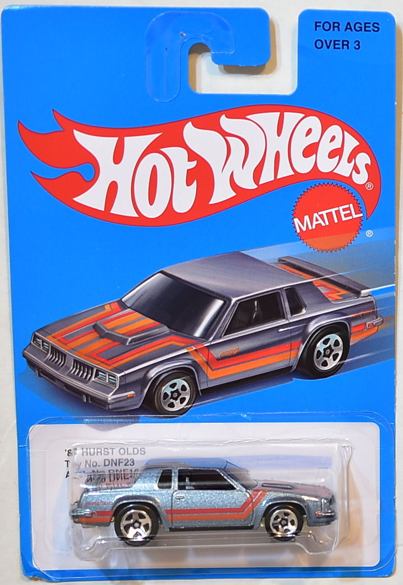 HOT WHEELS 2016 BLUE CARD TARGET '64 HURST OLDS