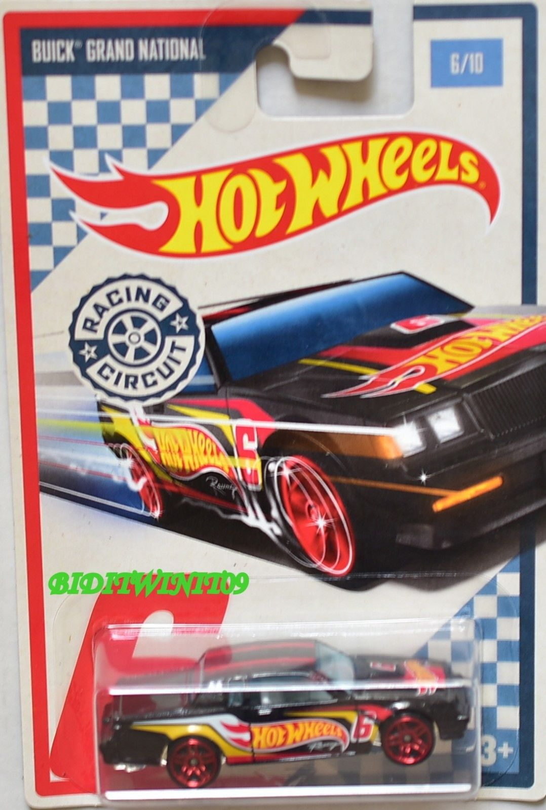 hot wheels racing circuit 6 10 buick grand national 0001949. Black Bedroom Furniture Sets. Home Design Ideas