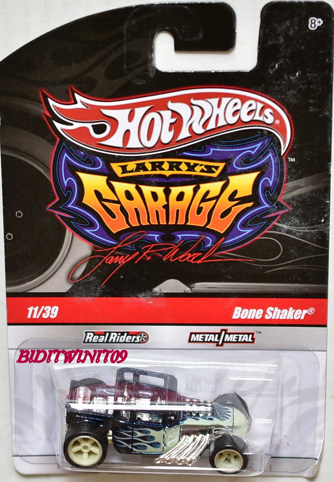 HOT WHEELS LARRY'S GARAGE #11/39 BONE SHAKER