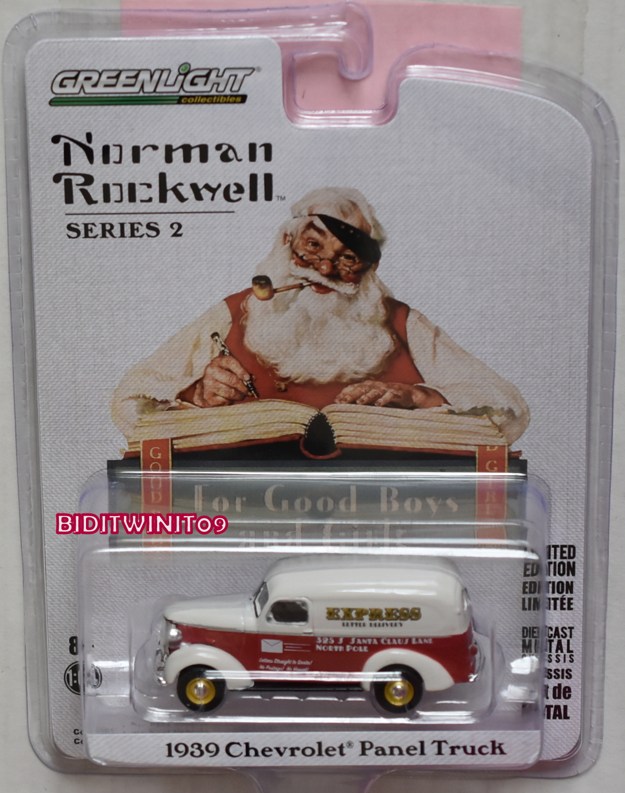 GREENLIGHT NORMAN ROCKWELL SERIES 2 1939 CHEVROLET PANEL TRUCK