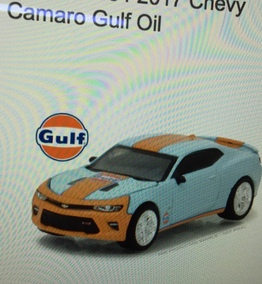 GREENLIGHT 2017 CHEVY GULF OIL HOBBY EXCLUSIVE (PRE-ORDER)