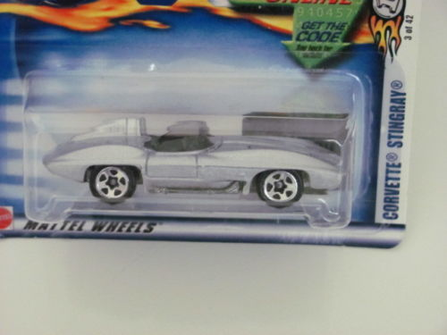 HOT WHEELS 2003 CORVETTE STING RAY COLLECT. 015 SILVER