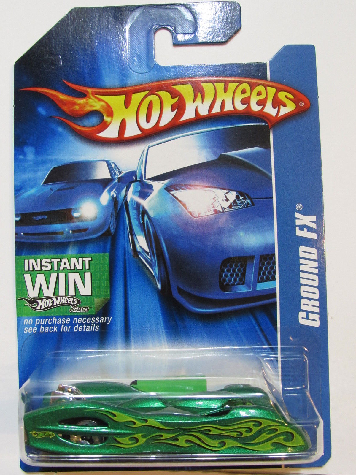 HOT WHEELS 2006 GROUND FX GREEN