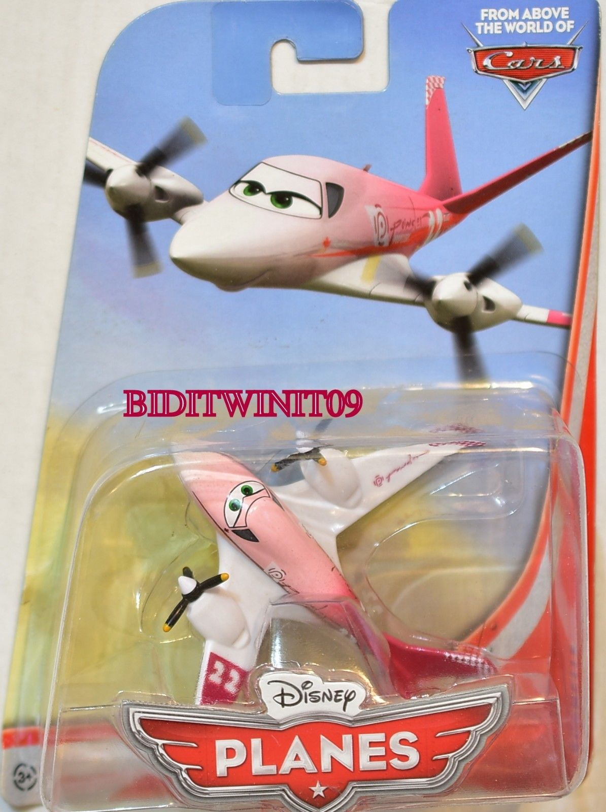 DISNEY PLANES FROM ABOVE THE WORLD OF CARS ROCHELLE