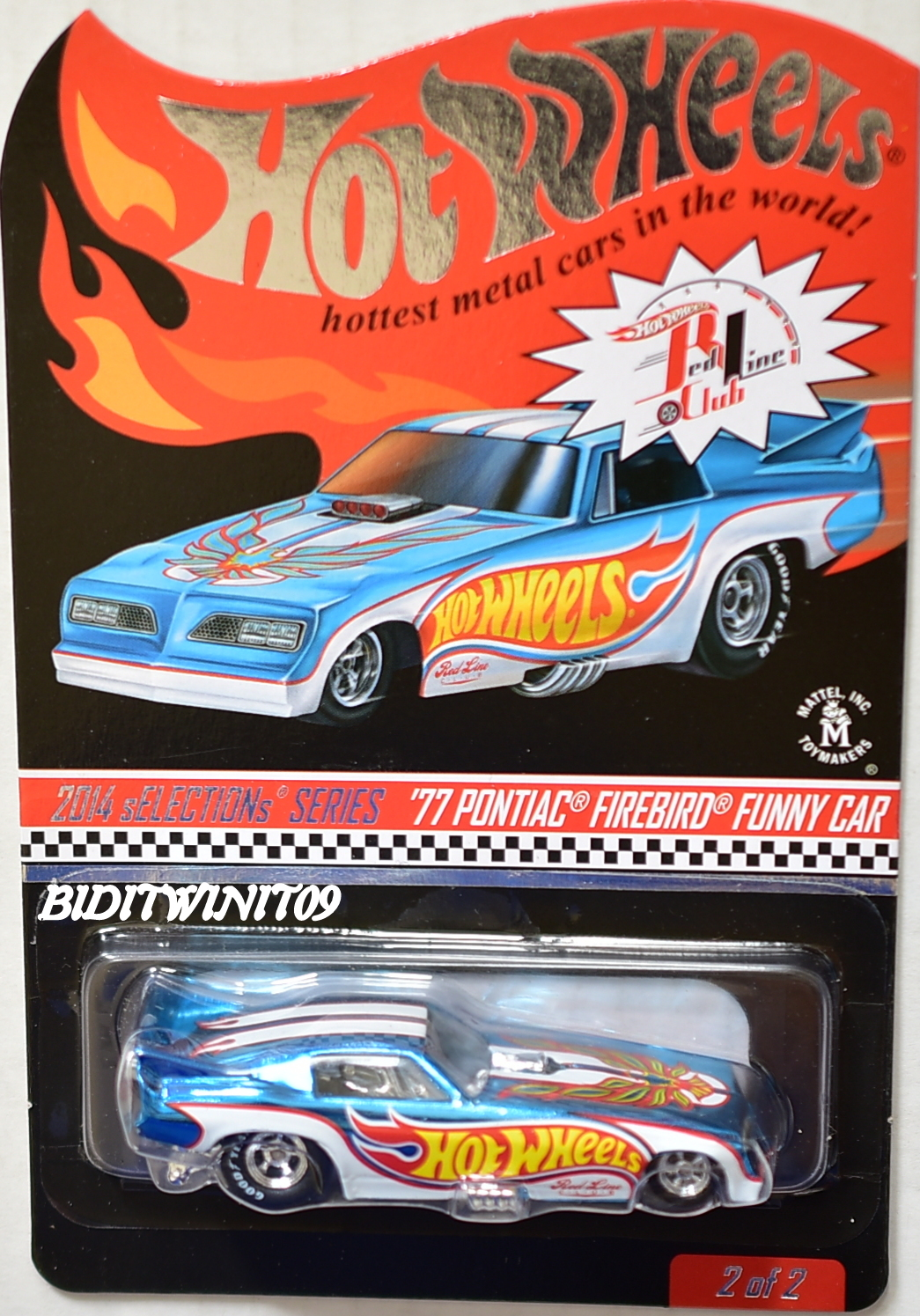 Hot Wheels Rlc 2014 Selections Series 77 Pontiac Firebird