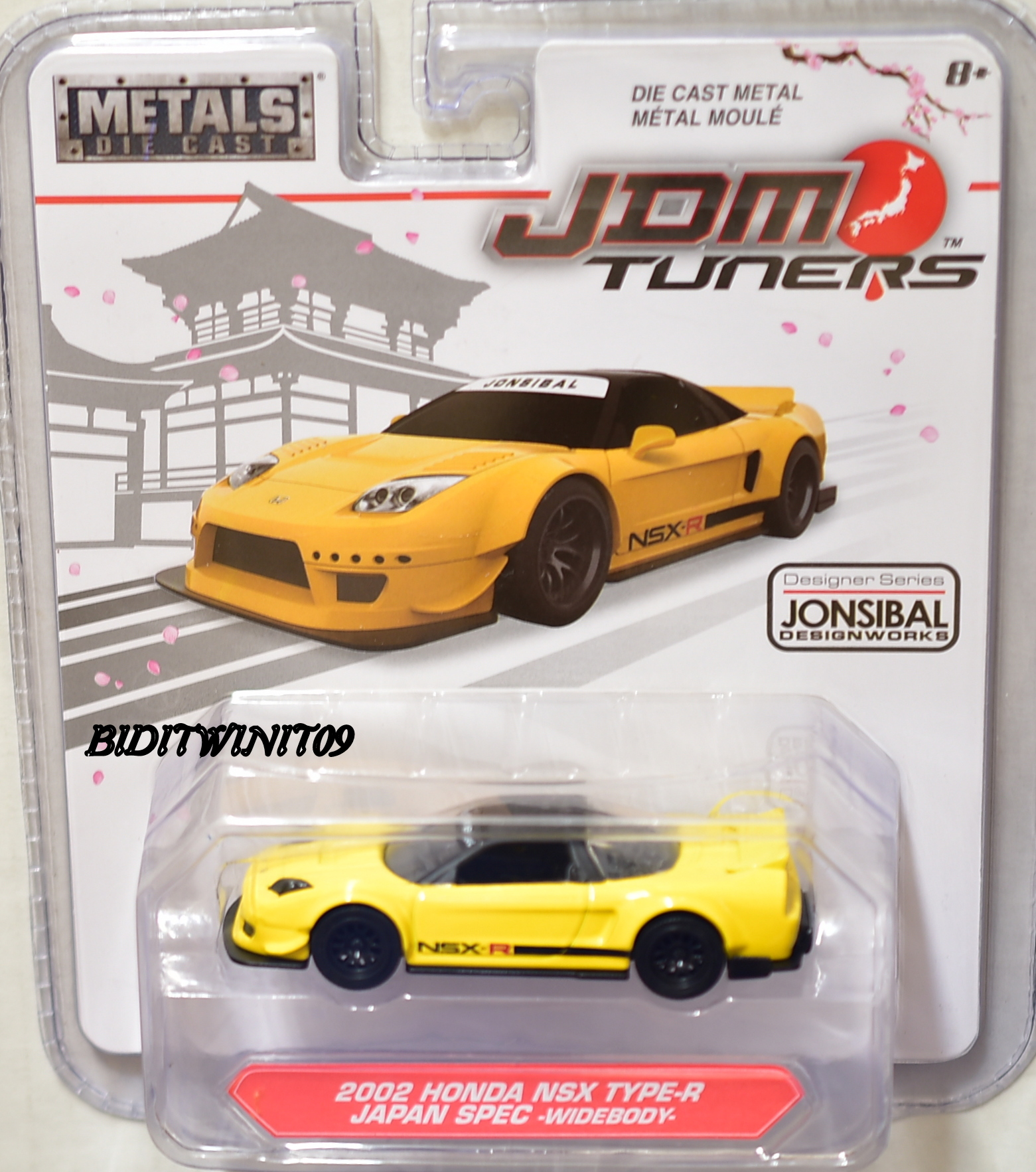 JADA JDM TUNERS 2002 HONDA NSX TYPE-R JAPAN SPEC WIDEBODY