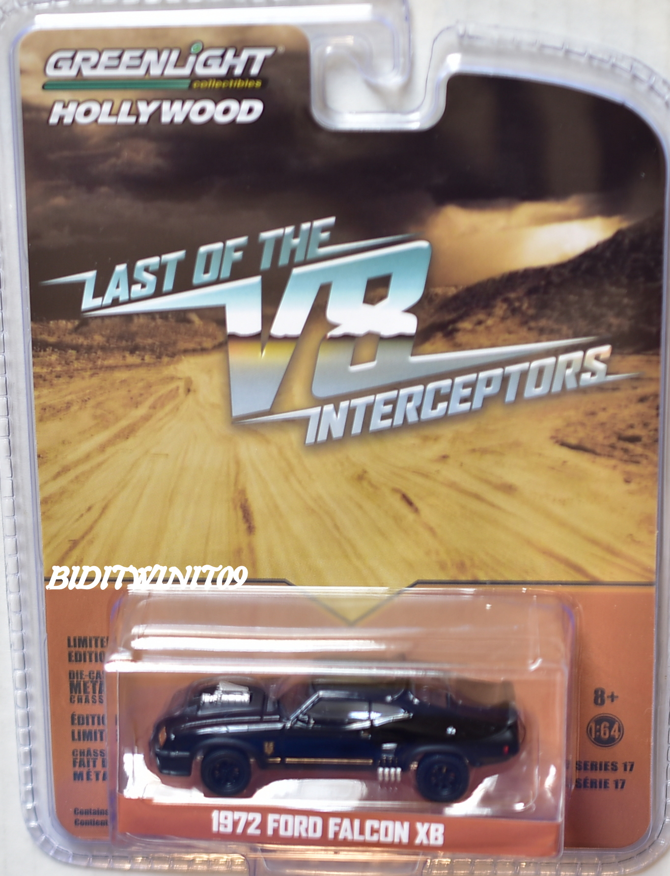 GREENLIGHT HOLLYWOOD LAST OF THE V8 INTERCEPTORS 1972 FORD FALCON XB