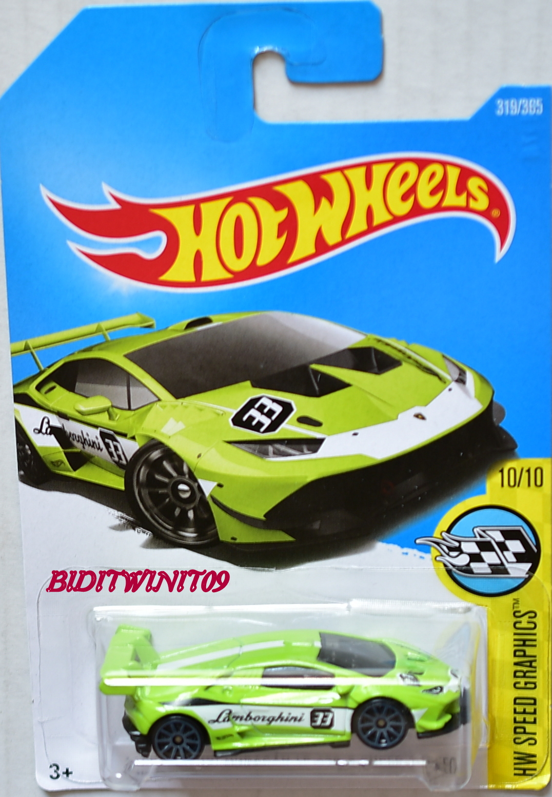 hot wheels 2017 hw speed graphics lamborghini huracan lp 620 2 super trofeo l. Black Bedroom Furniture Sets. Home Design Ideas