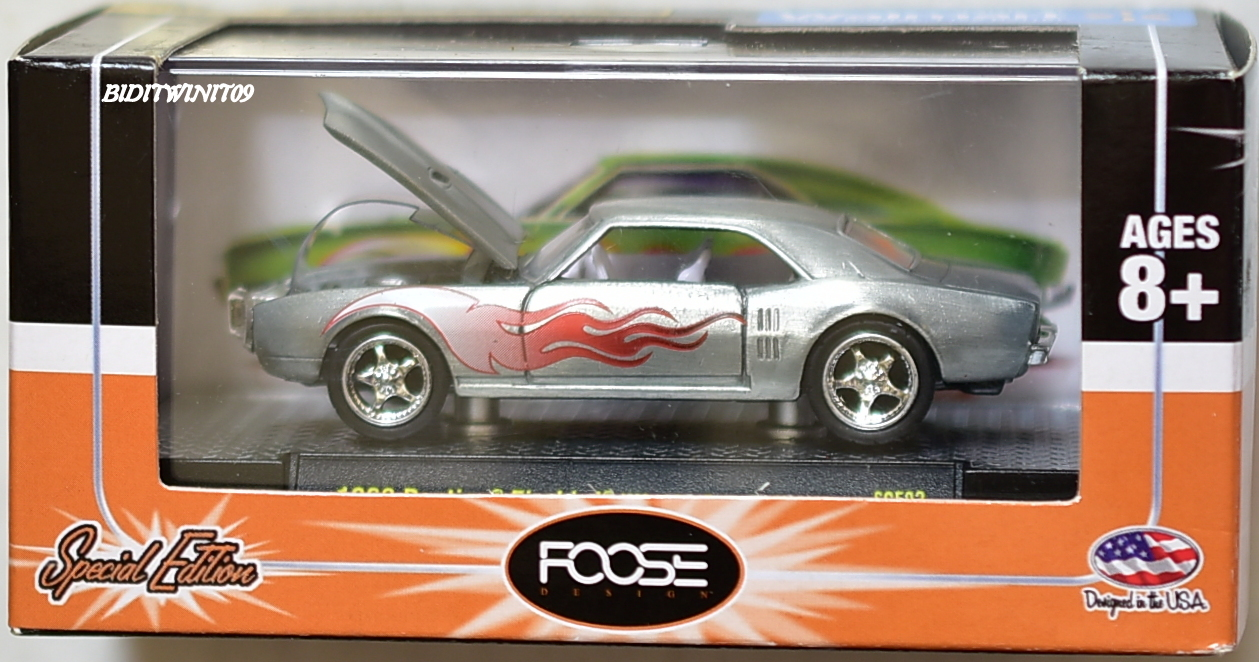 M2 MACHINES WALMART 1968 PONTIAC FIREBIRD UNCLE SAM'S NEPHEW CHASE E+