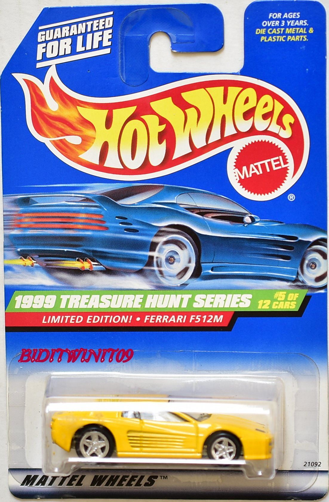 HOT WHEELS 2010 MAILED IN PLYMOUTH KING KUDA #04/04 FACTORY SEALED