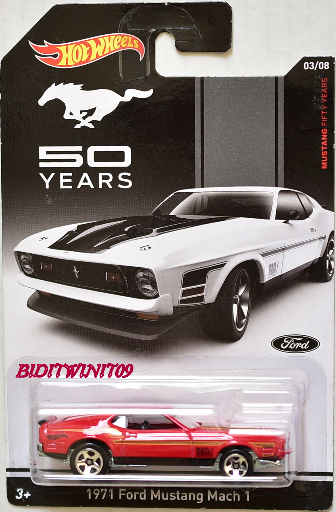 HOT WHEELS 2010 MAILED IN '70 MONTE CARLO FACTORY SEALED E+