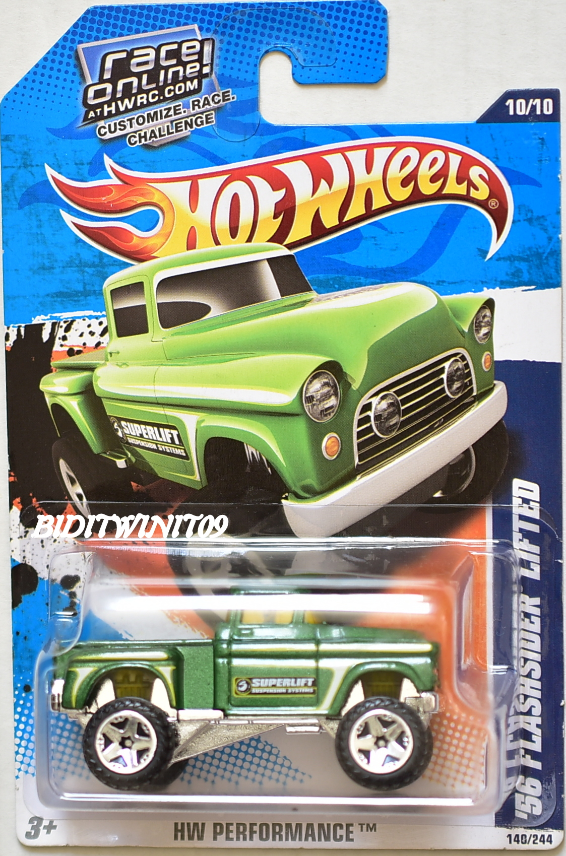 HOT WHEELS 2012 MUSCLE MANIA - FORD '67 SHELBY GT-500 #4/10 KMART