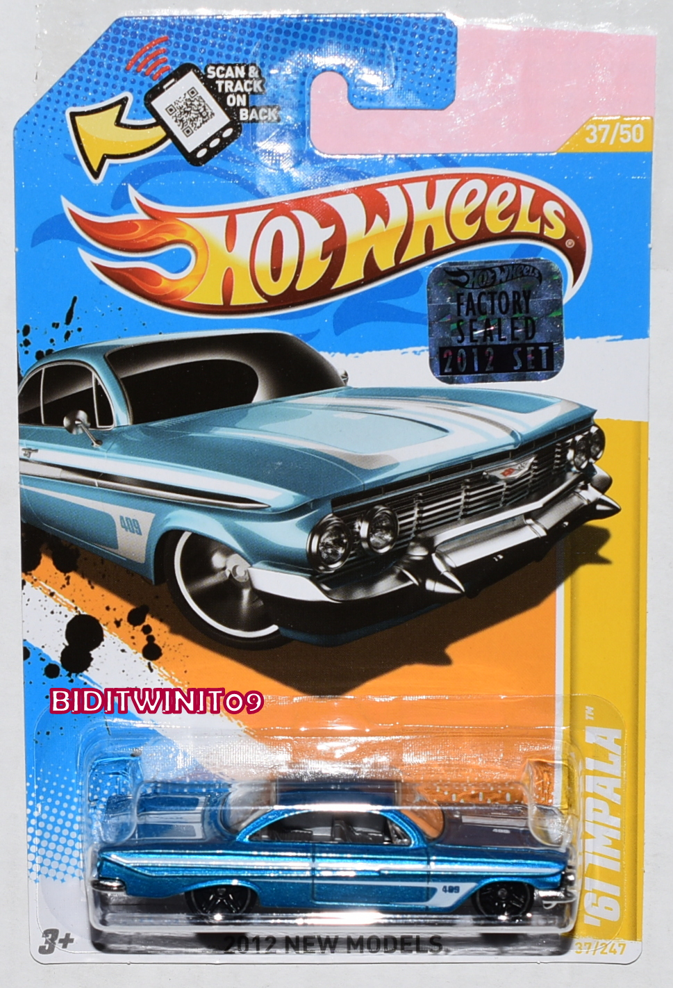 HOT WHEELS CLASSICS SERIES 5 COPPER STOPPER #2/30 BLUE CHASE E+