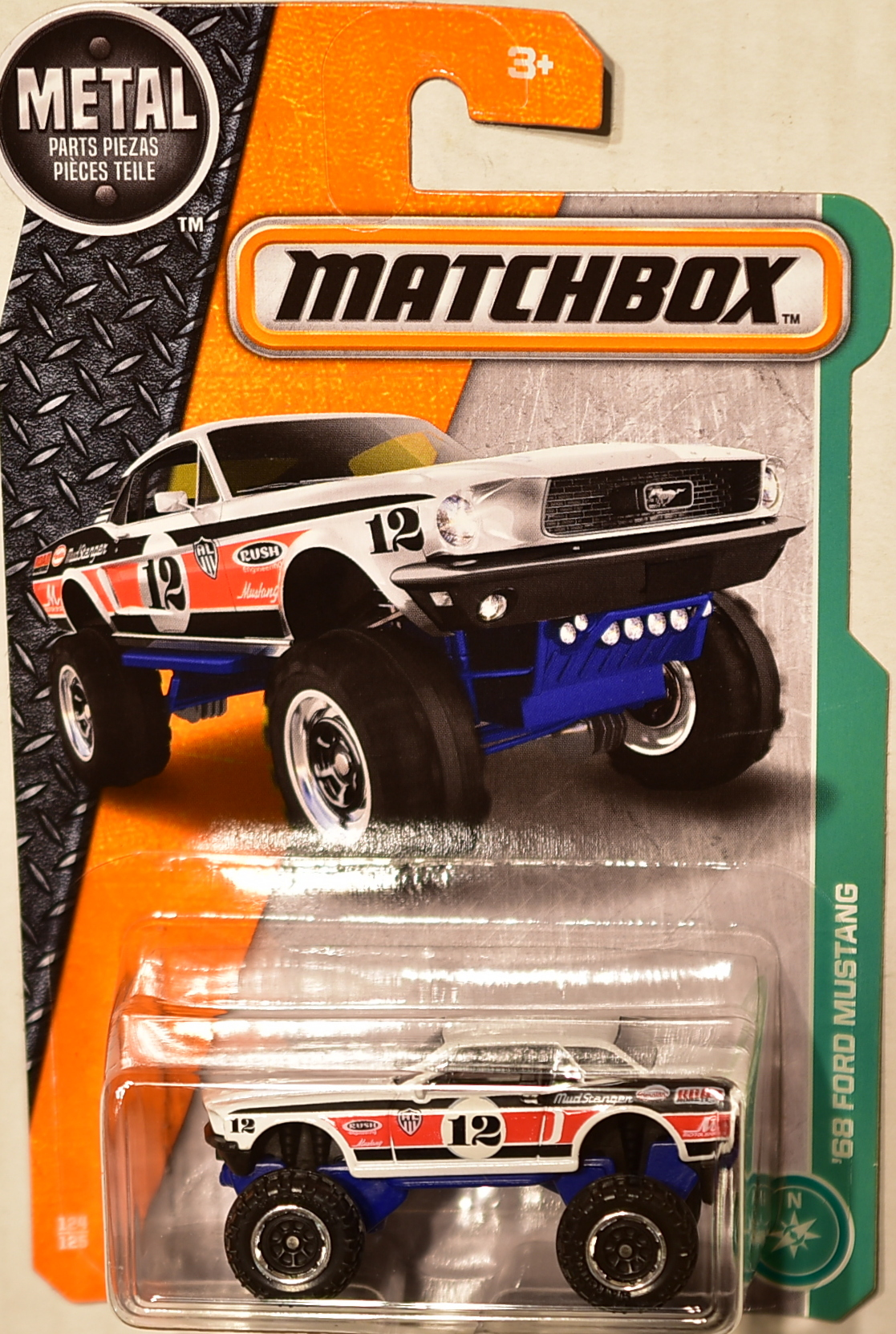 Ford Crown Victoria 2017 >> MATCHBOX 2017 METAL PARTS PIEZAS '68 FORD MUSTANG [0003829] - $2.16 : Biditwinit09.com, Classic ...