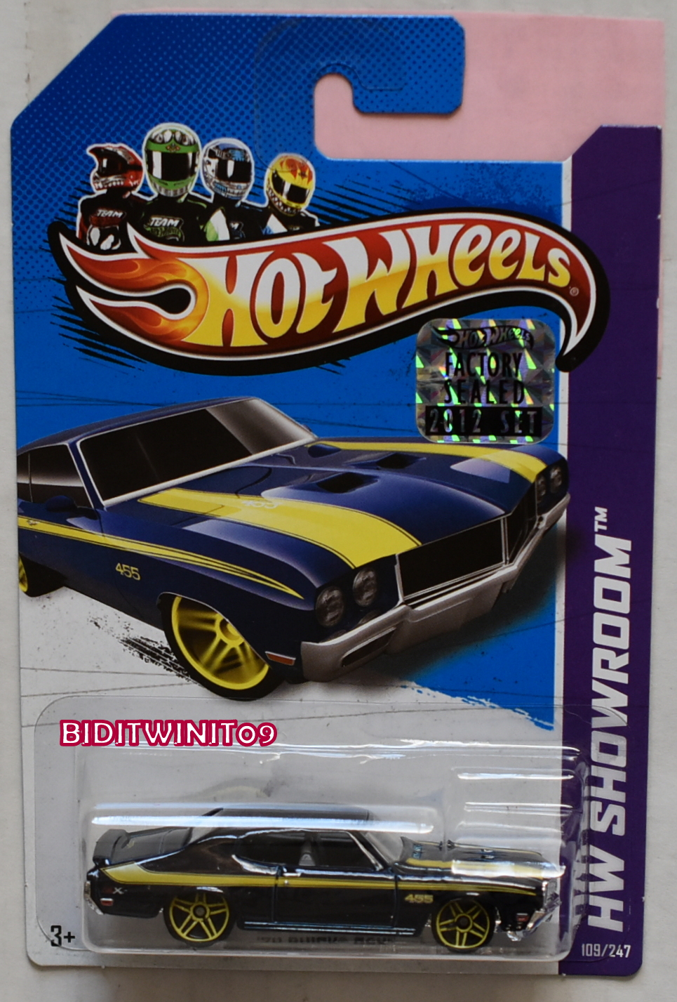 GREENLIGHT 2017 GLMUSCLE SERIES 19 1972 CHEVROLET CAMARO Z/28