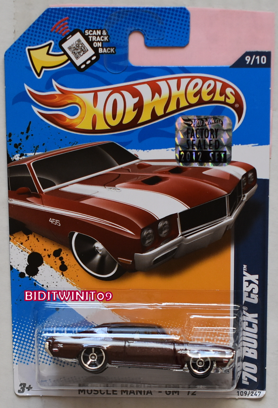 GREENLIGHT 2017 GLMUSCLE SERIES 19 1970 CHEVROLET CHEVELLE SS