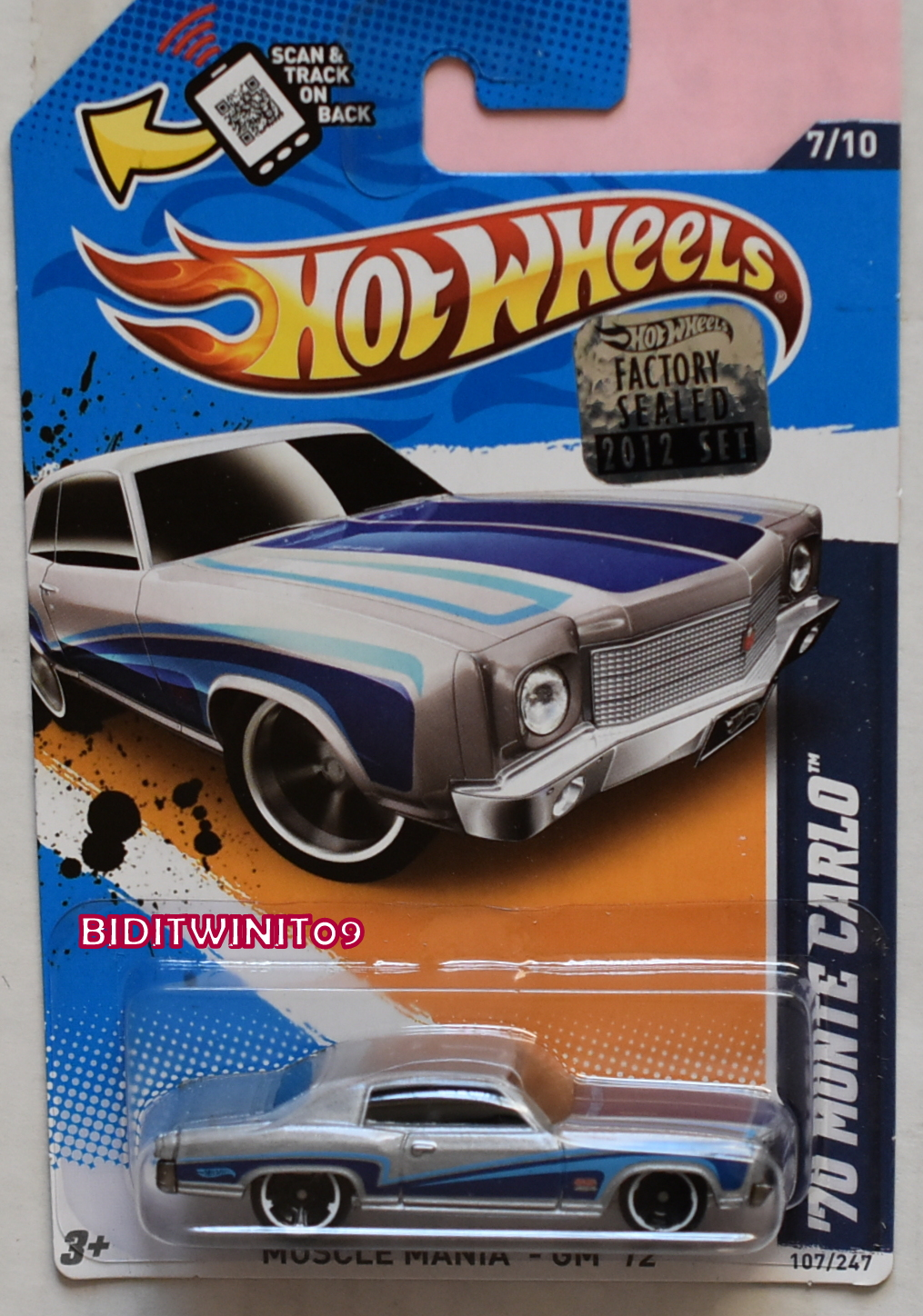 GREENLIGHT 2017 GLMUSCLE SERIES 19 1973 FORD FALCON XB