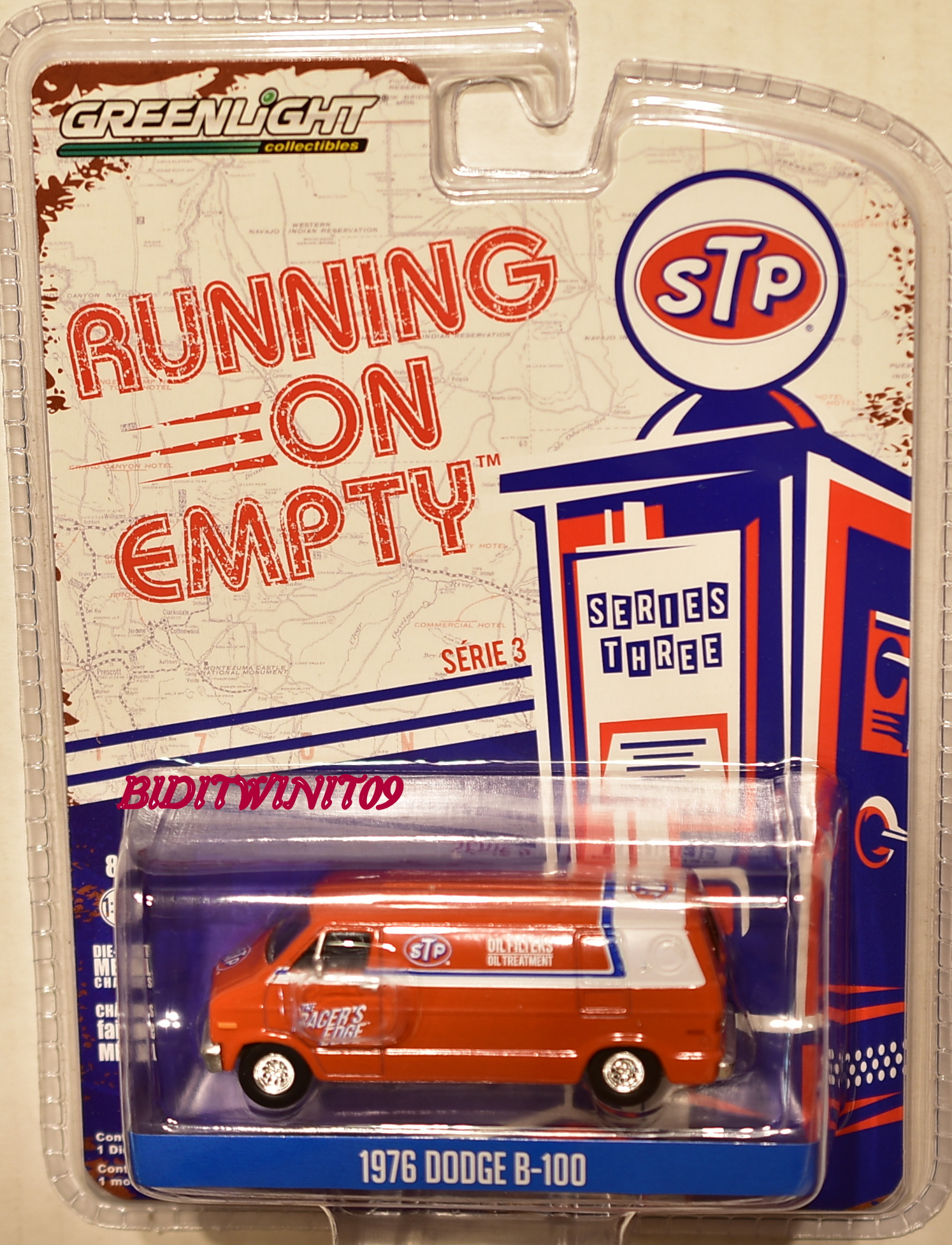 GREENLIGHT 2017 RUNNING ON EMPTY SERIES 3 1976 DODGE B-100