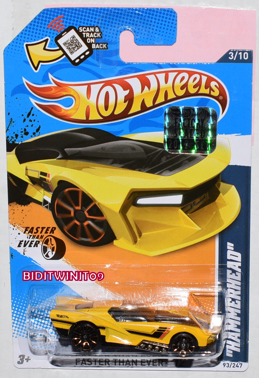 HOT WHEELS POP CULTURE 2017 STAR WARS BOUNTY HUNTER DECO DELIVERY