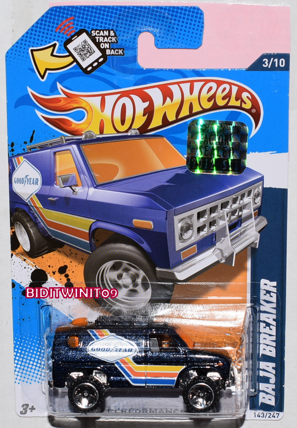 HOT WHEELS 2017 STREET BEASTS PIRANHA TERROR #7/10 SHORT CARD