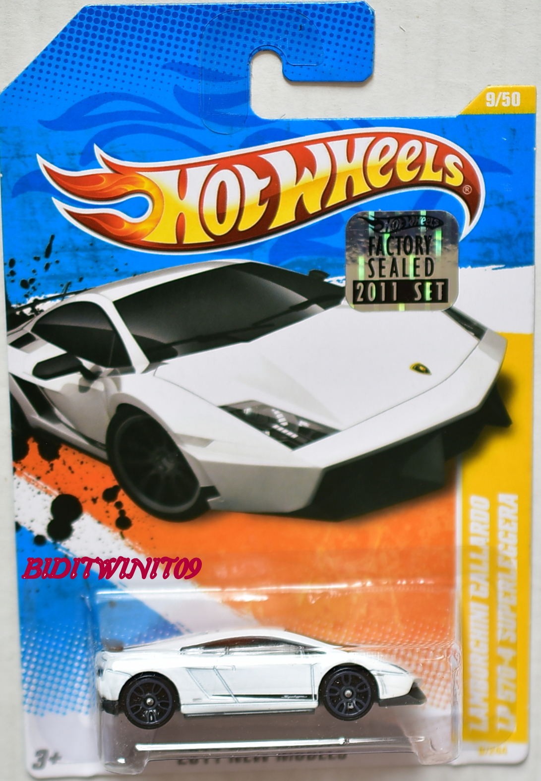 hot wheels 2011 lamborghini gallardo lp 570 4 superleggera white factory sealed 0004194 18. Black Bedroom Furniture Sets. Home Design Ideas
