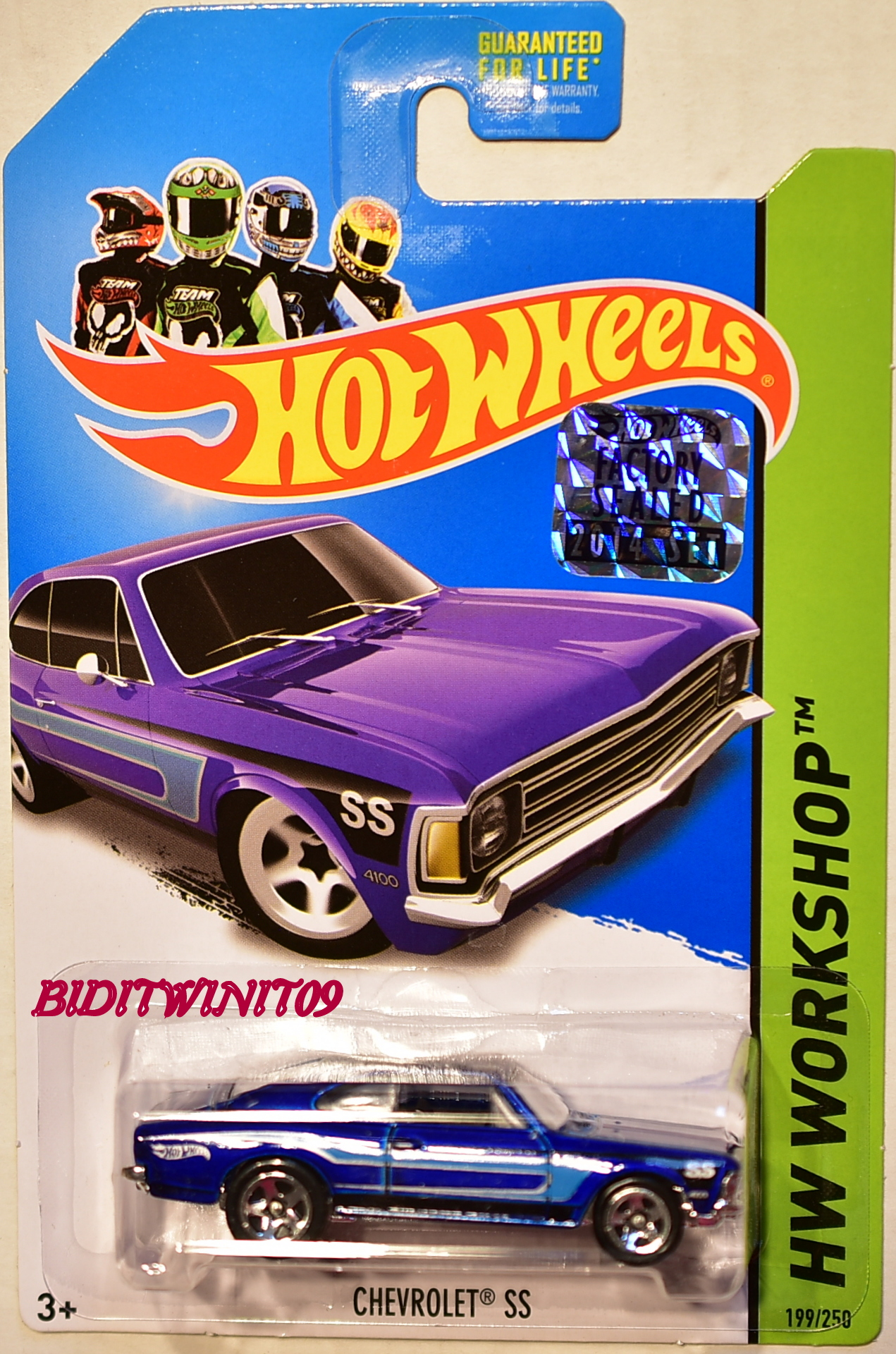 HOT WHEELS 2014 HW WORKSHOP HW ALL STARS CHEVROLET SS FACTORY SEALED