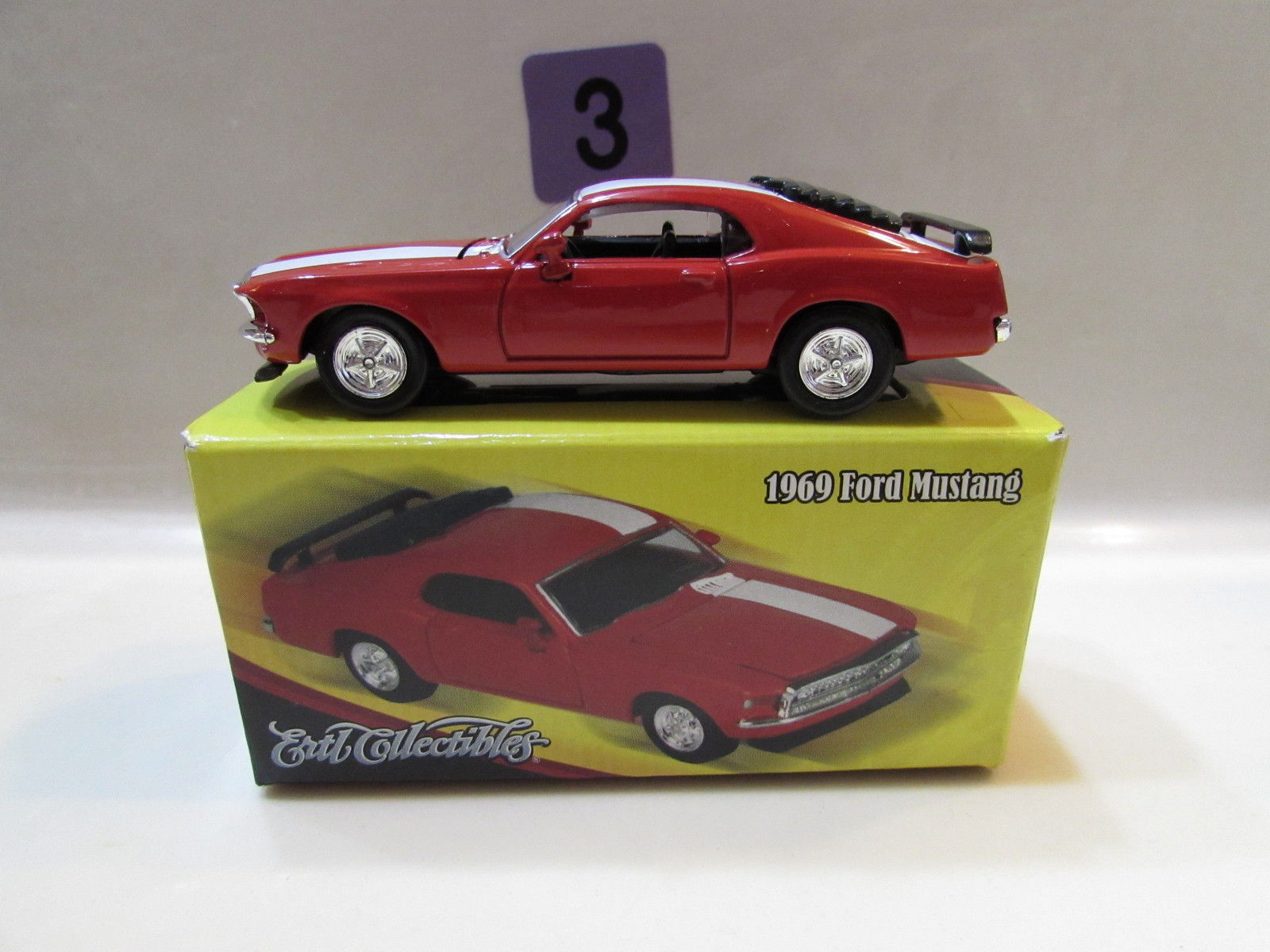 2000 ERTL COLLECTIBLES 1969 FORD MUSTANG E+