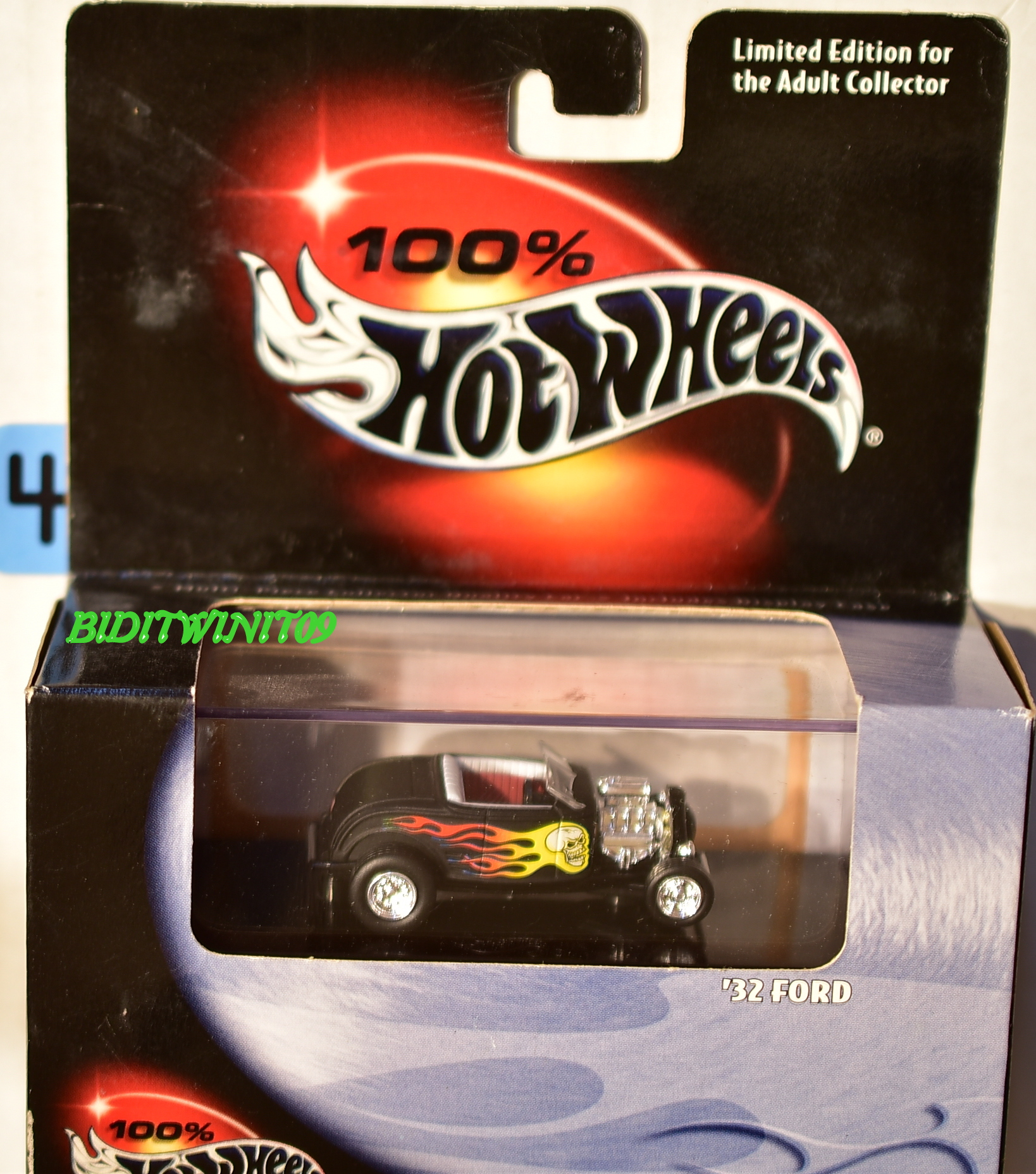 HOT WHEELS 100% BLACK BOX LIMITED EDITION '32 FORD