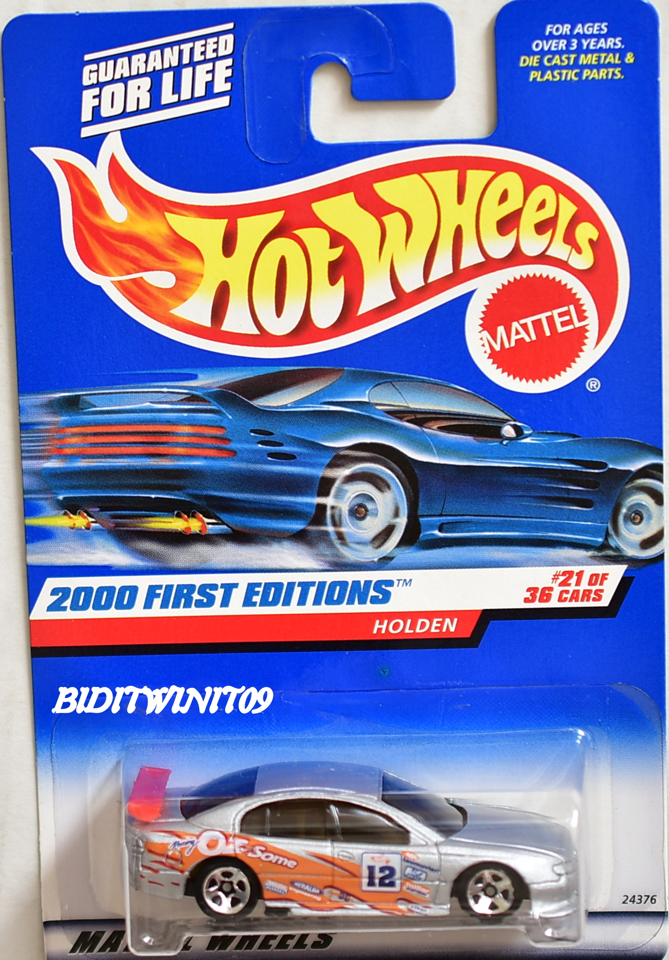 HOT WHEELS 2000 FIRST EDITIONS SS COMMODORE (HOLDEN) #21/36 MIB