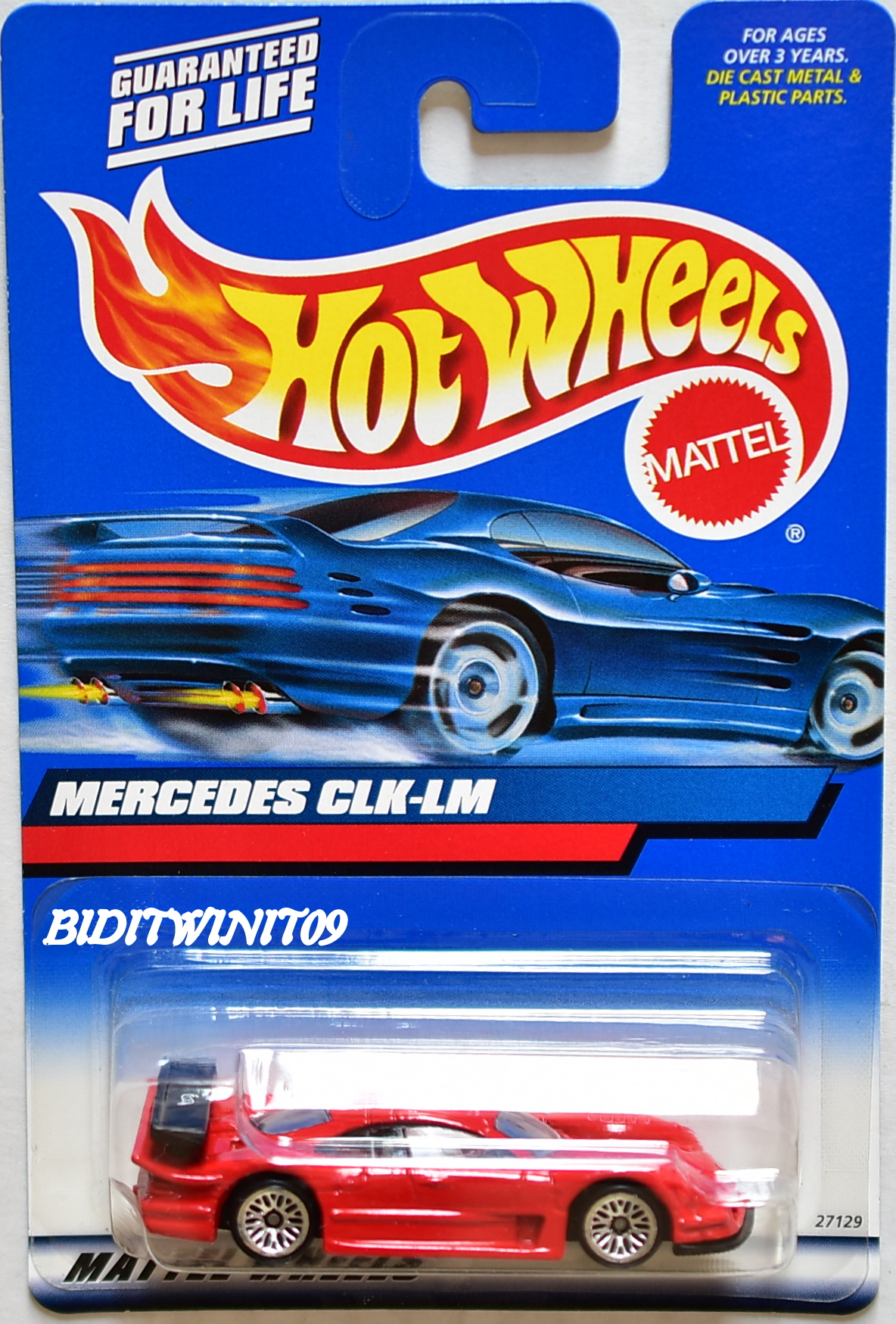 HOT WHEELS 2000 MERCEDES CLK - LM #163 RED