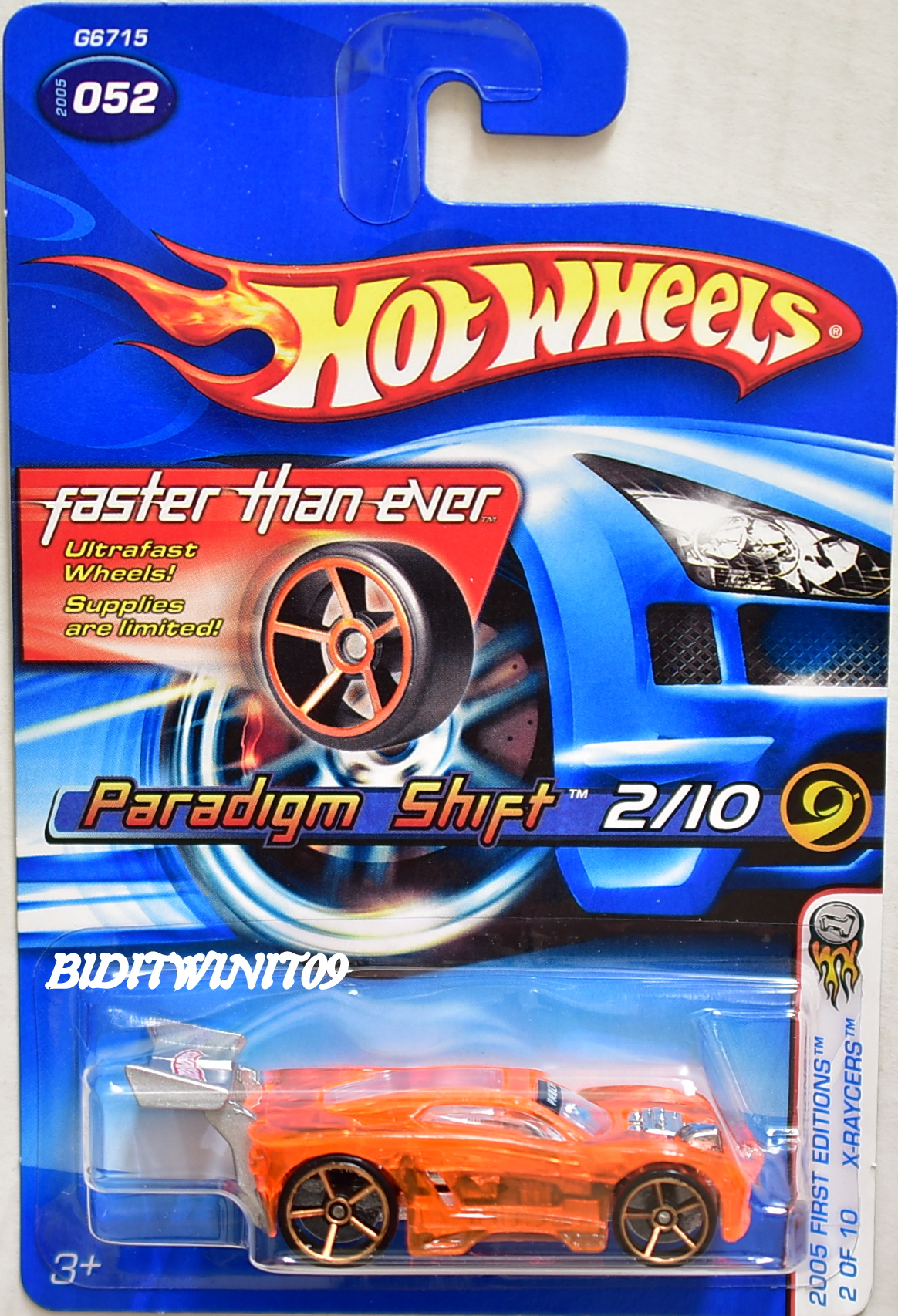 HOT WHEELS 2005 FIRST EDITIONS FTE PARADIGM SHIFT #052