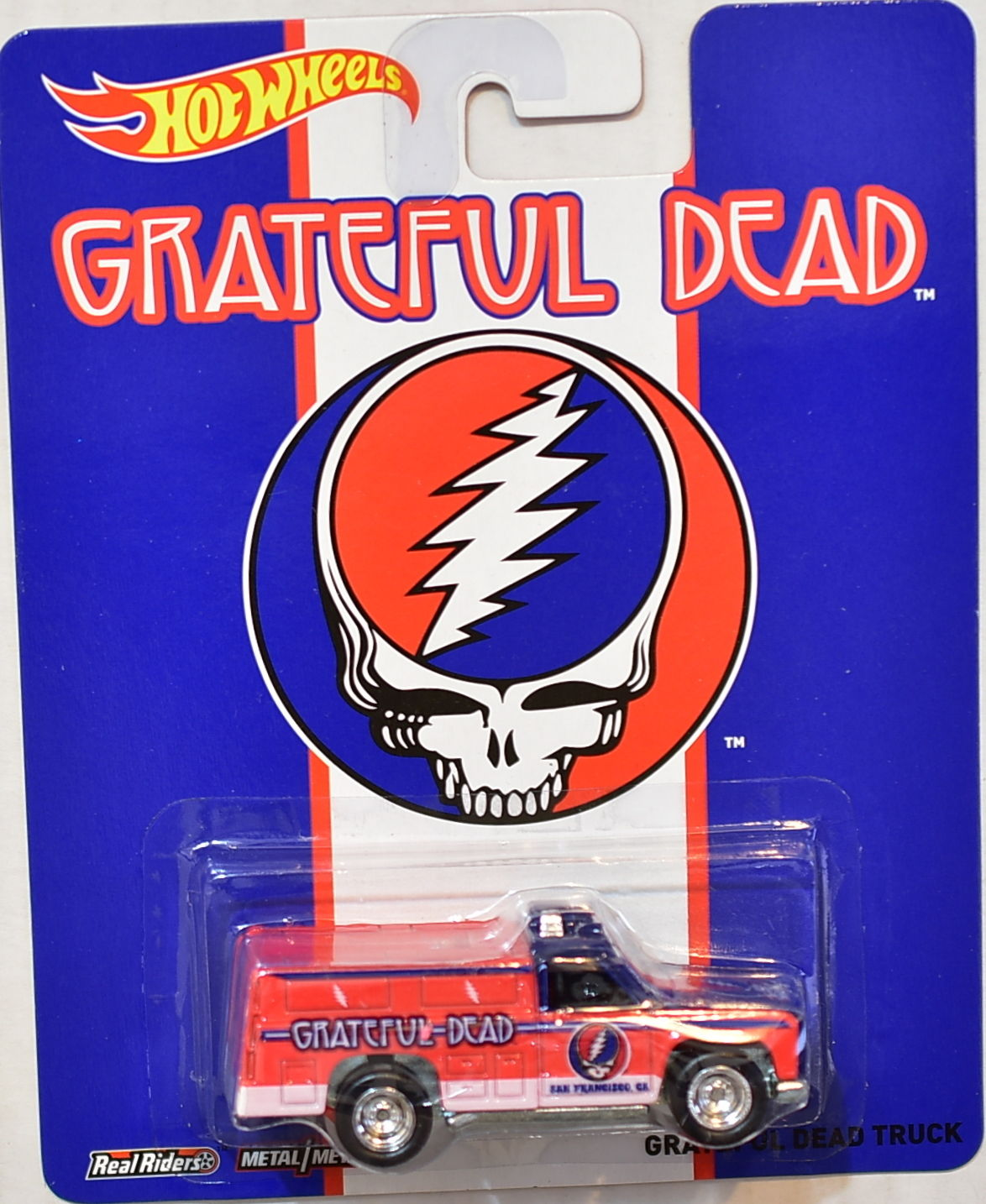 HOT WHEELS POP CULTURE 2014 GRATEFUL DEAD TRUCK