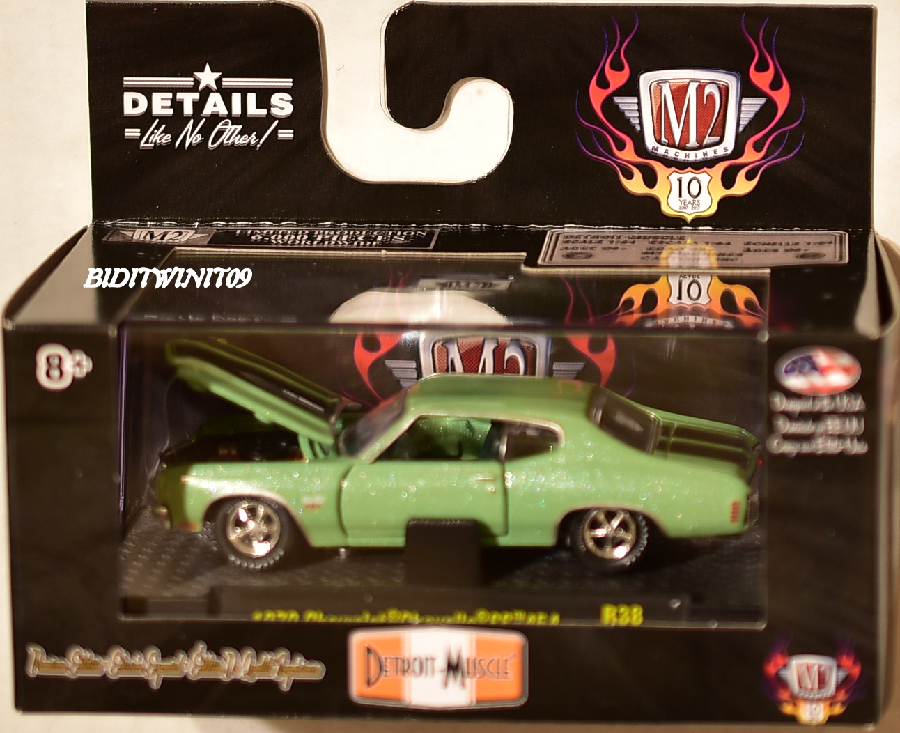 M2 MACHINES DETROIT-MUSCLE 1970 CHEVROLET CHEVELLE SS 454 R38