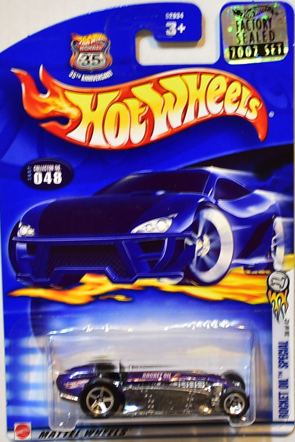 HOT WHEELS 2002 ROCKET OIL SPECIAL #048 FACTORY SEALED