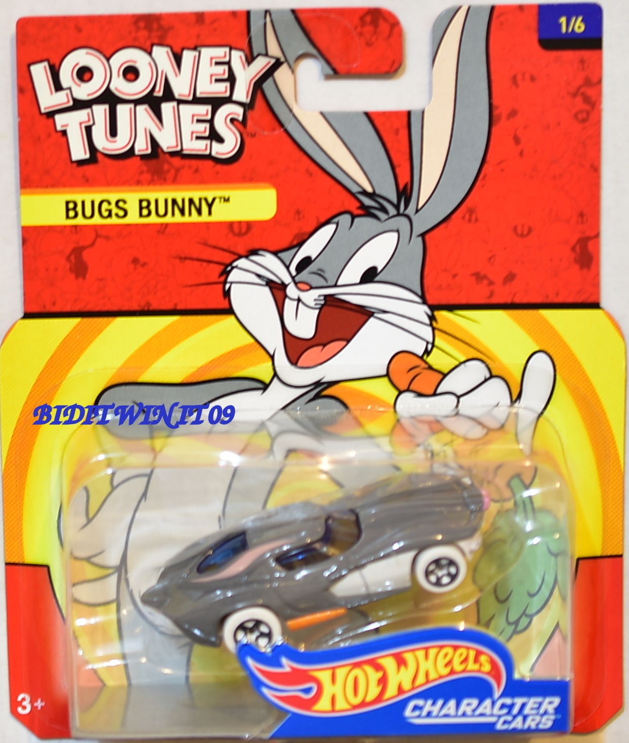 HOT WHEELS 2017 CHARACTER CARS LOONEY TUNES BUGS BUNNY
