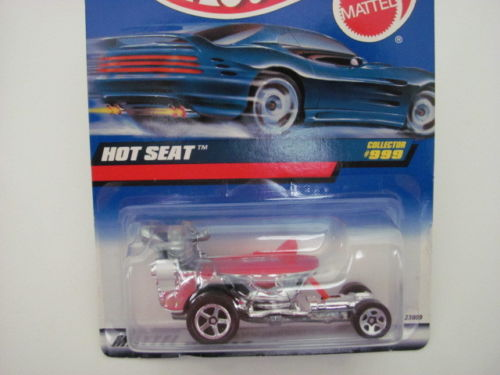 HOT WHEELS 1999 HOT SEAT COLLECTOR #999 CHROME
