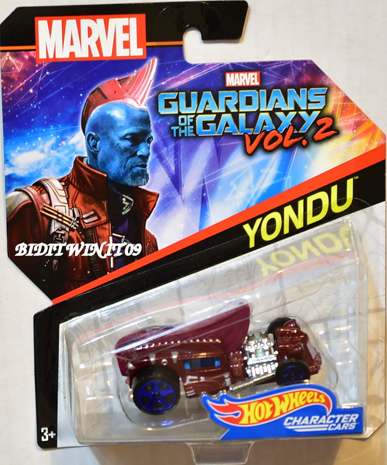 HOT WHEELS MARVEL GUARDIANS OF THE GALAXY YONDU