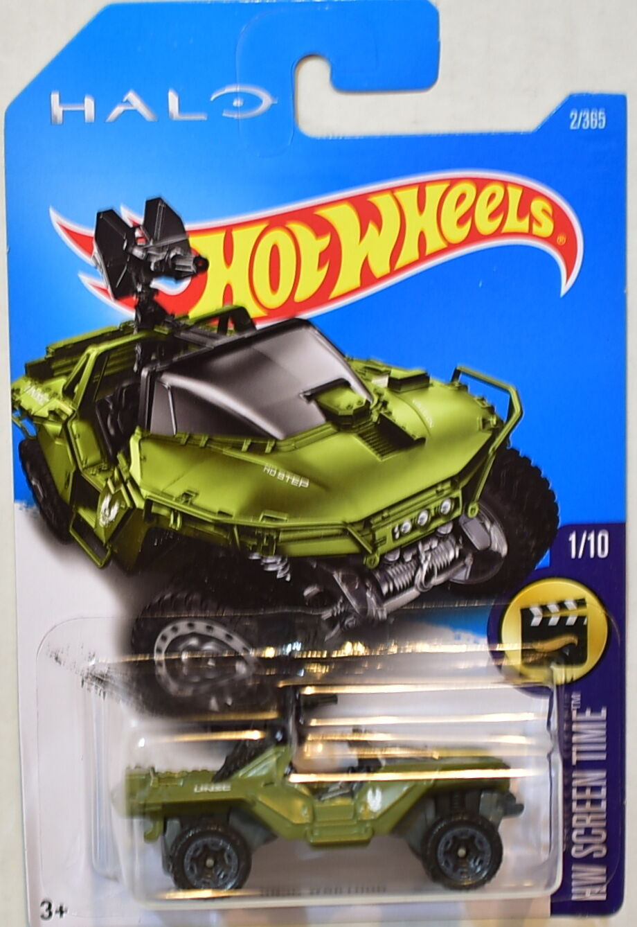 HOT WHEELS 2017 HW SCREEN TIME #1/10 UNSC WARTHOG