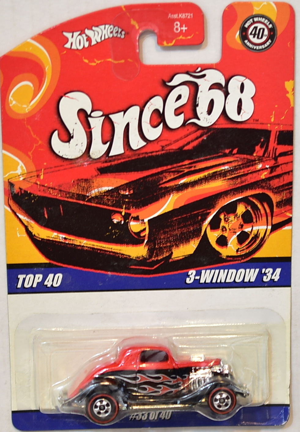 HOT WHEELS SINCE 68 TOP 40 3 - WINDOW '34 #33 OF 40