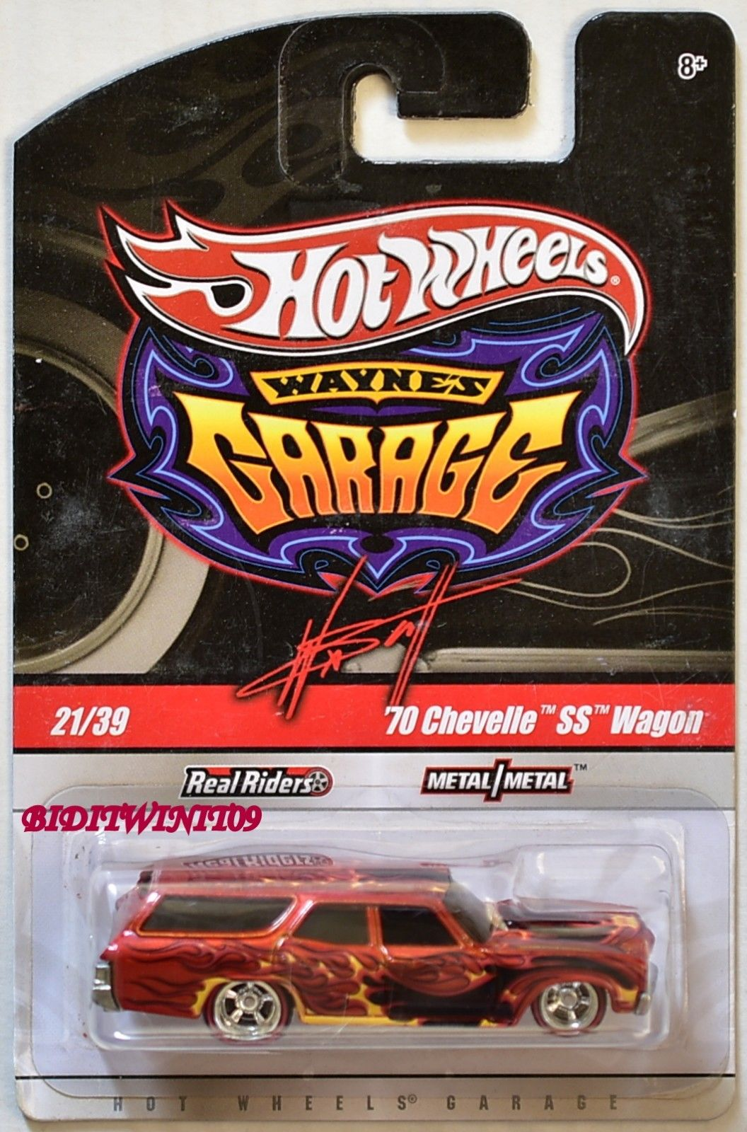 HOT WHEELS WAYNE'S GARAGE '70 CHEVELLE SS WAGON #21/39