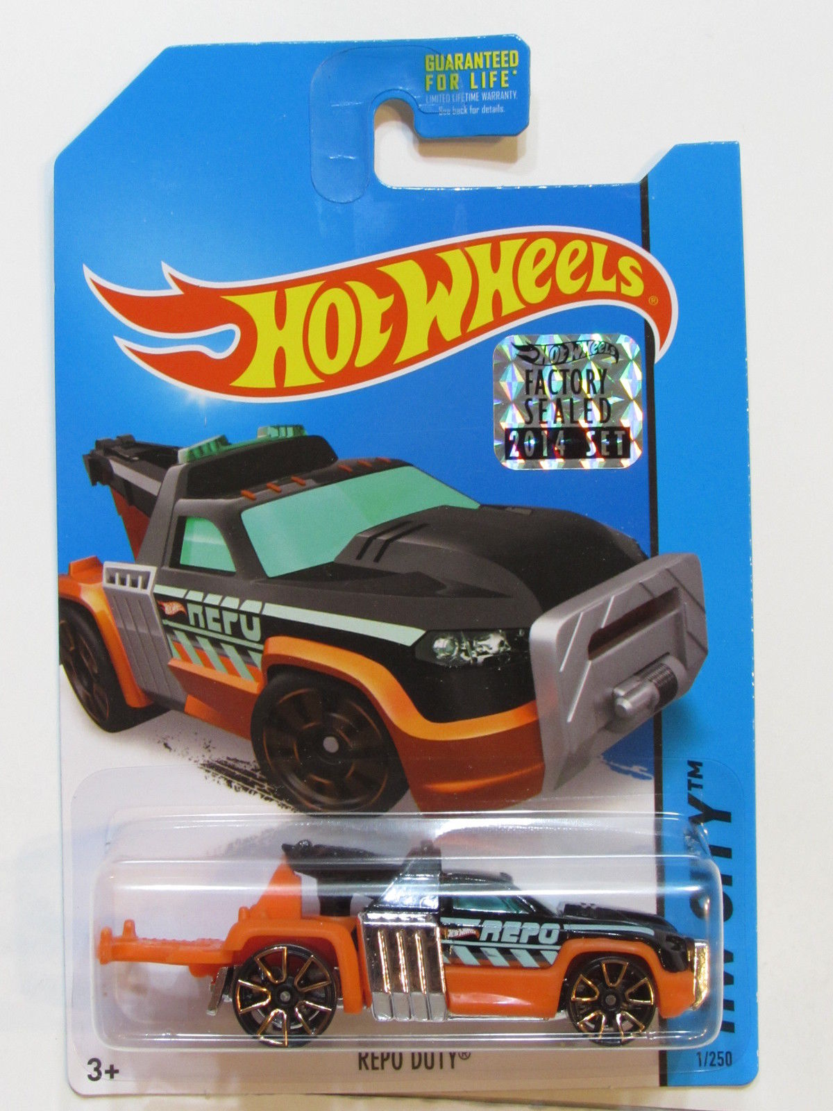 HOT WHEELS 2014 HW CITY REPO DUTY FACTORY SEALED
