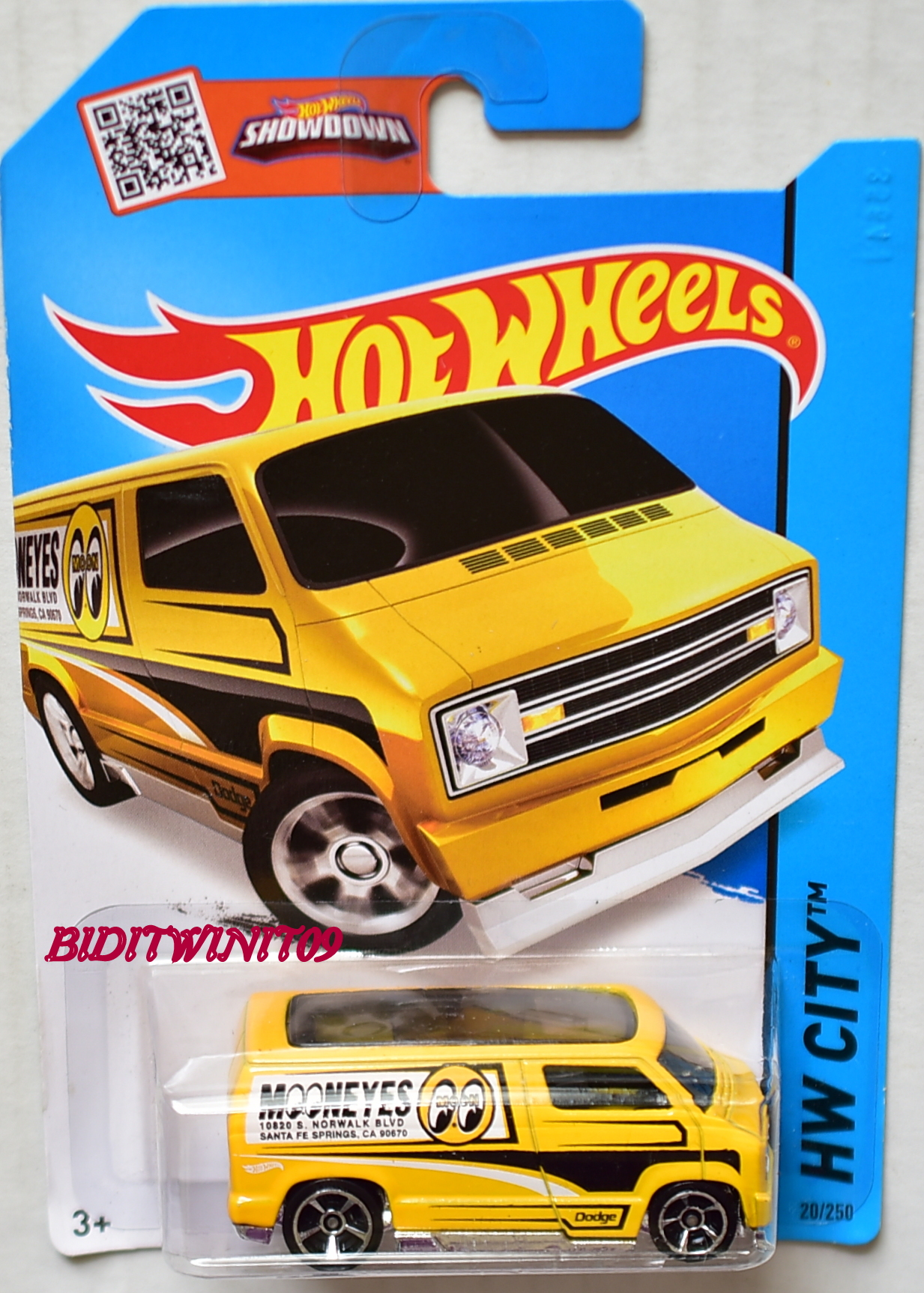 HOT WHEELS 2015 HW CITY - HW PERFORMANCE CUSTOM '77 DODGE VAN