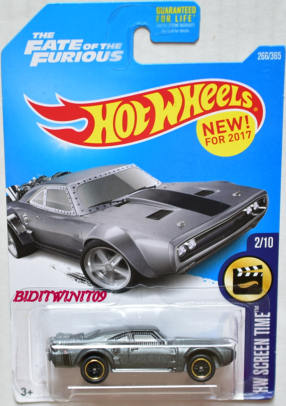HOT WHEELS 2017 HW SCREEN TIME ICE CHARGER CUSTOM MADE E+
