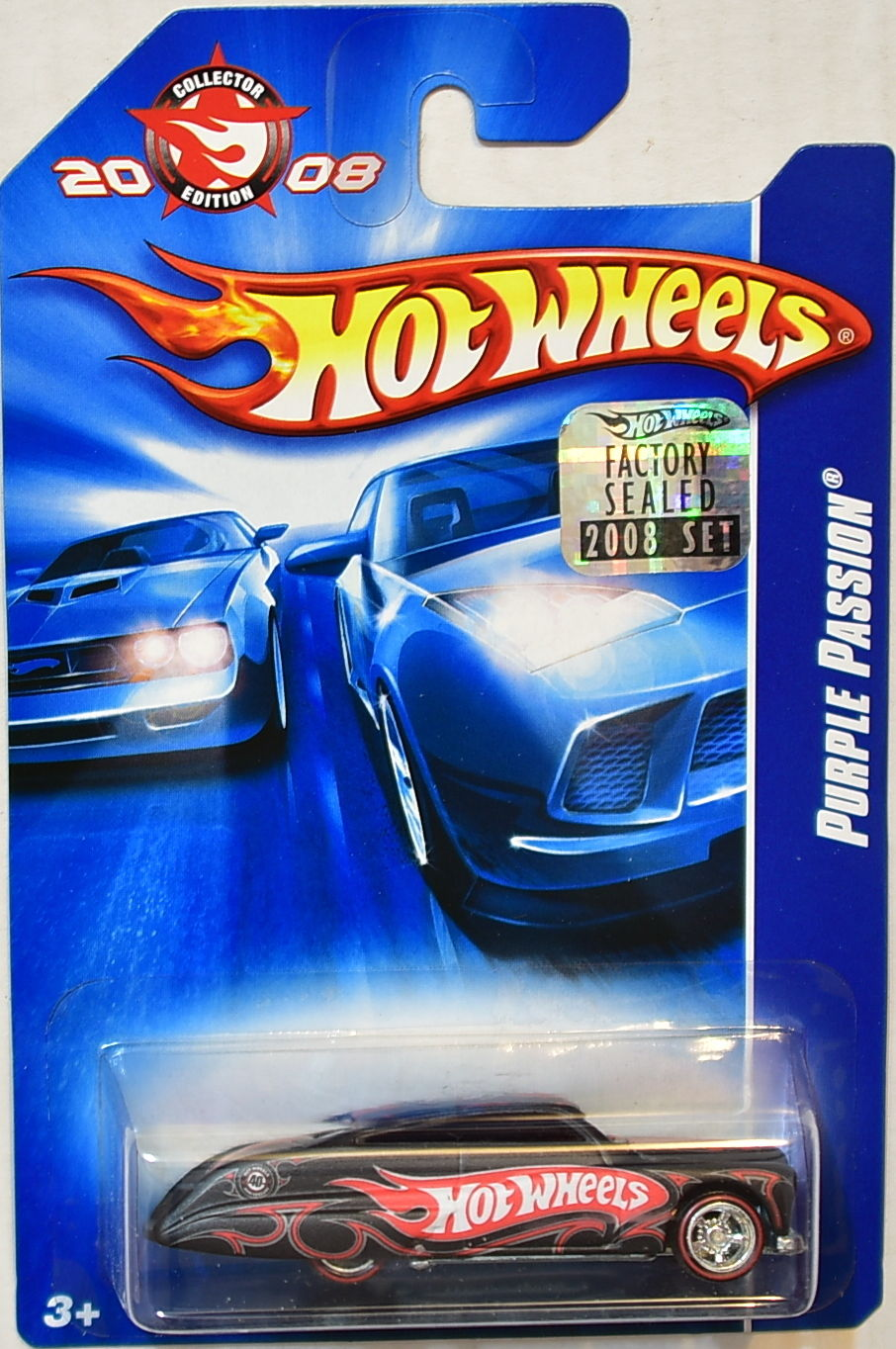 HOT WHEELS 2008 KMART MAILED IN PURPLE PASSION BLACK FACTORY SEALED
