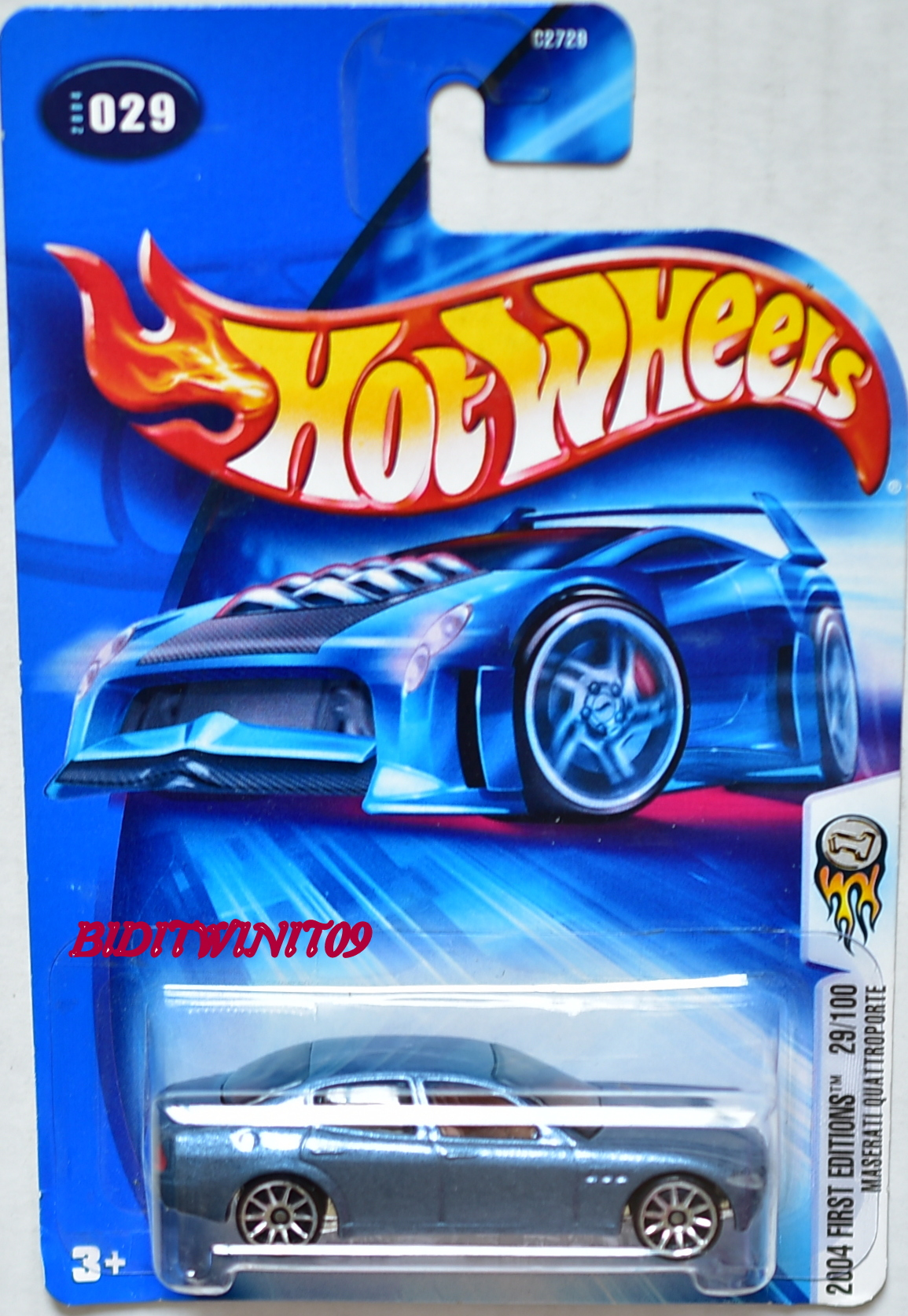 HOT WHEELS 2004 FIRST EDITIONS MASERATI QUATTROPORTE #029