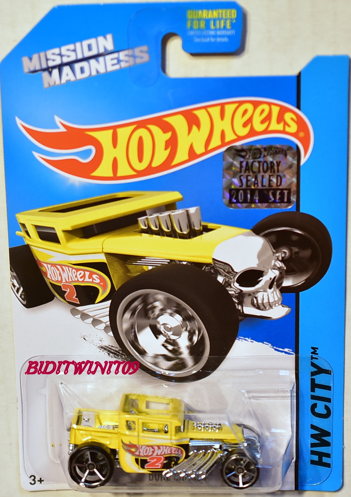 HOT WHEELS 2014 HW CITY BONE SHAKER KROGER EXCLUSIVE FACTORY SEALED