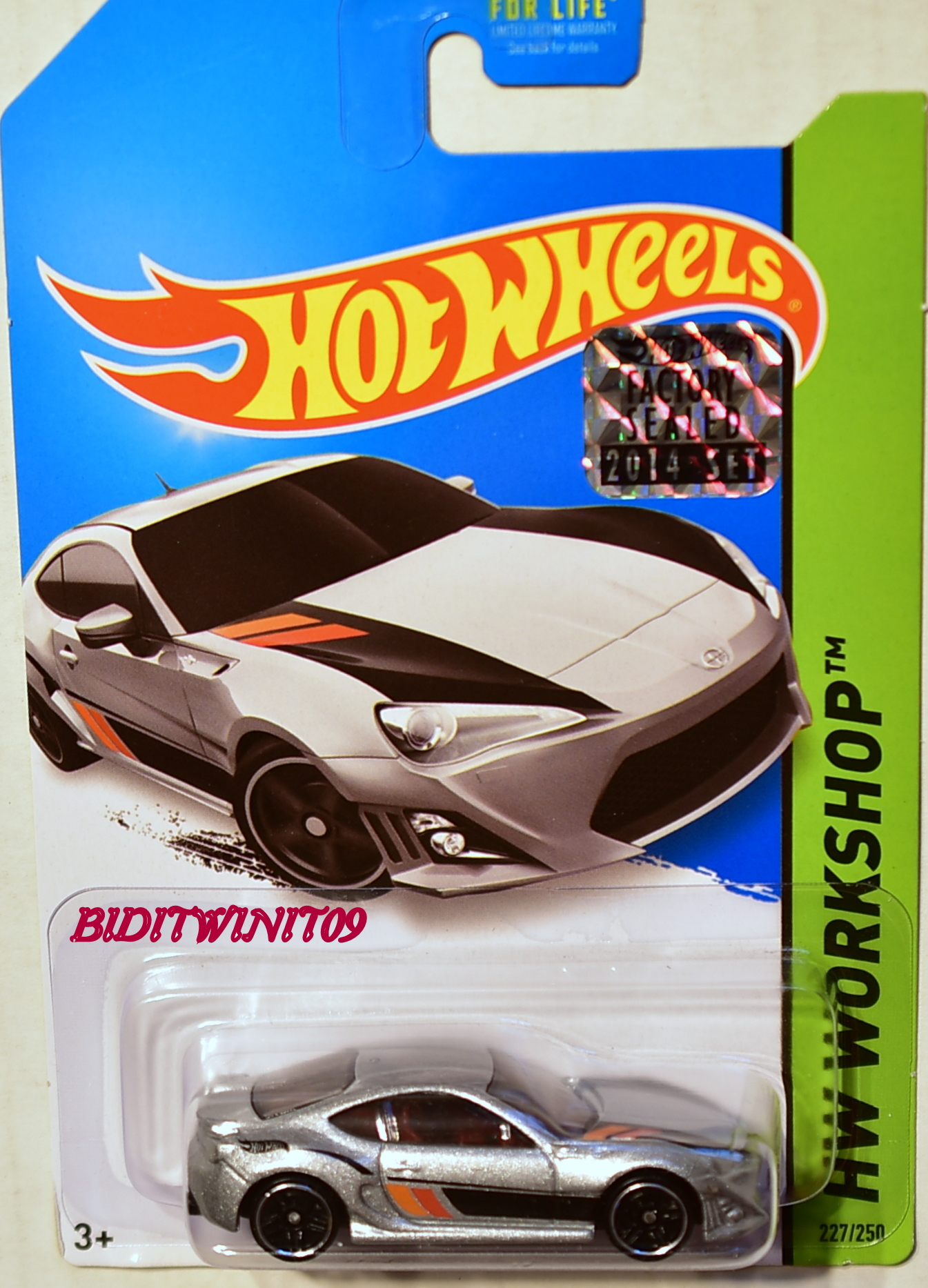 HOT WHEELS 2014 HW WORKSHOP SCION FR-S FACTORY SEALED